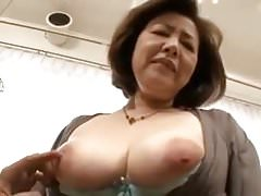Asian big-tits Japanese Mature