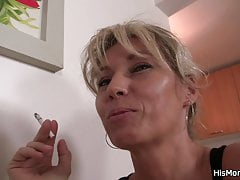 Blonde Cheating Czech Dildo