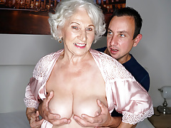 big-tits Cheating Granny Mature