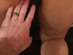 Creampie facesitting Hairy Mom