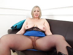 Bbw British Mature Milf