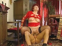 big-tits Czech Granny Mature