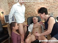 Granny Group hardcore Mature