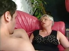 big-tits German Granny Mature