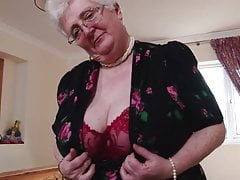 Big Ass big-tits British Granny