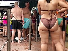 Beach Big Ass Hidden latina