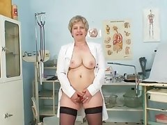 Mature Solo Stockings Uniform