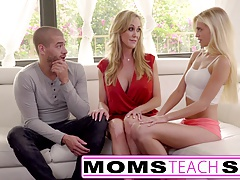 big-tits Bisexual Blonde Mom