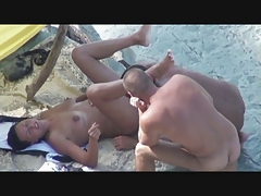 Beach Milf Mom Public