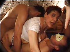 Gangbang Anal Party Brunette