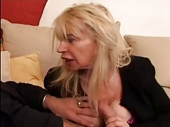 French Blonde Mature Milf