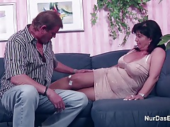 Amateur Casting German Granny