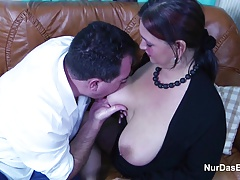 big-tits Casting German Mature