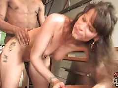Ebony Interracial Mature Mom