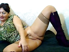 Russian Hairy Mature Mom