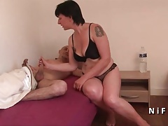 Anal Amateur Ass French