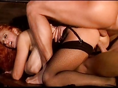 Anal double-penetration extreme Italian