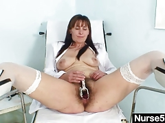 extreme Hairy Masturbation Mature