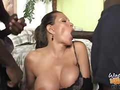big-tits Cuckold Ebony Interracial