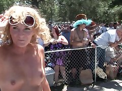 Mature Nudist Outdoor Public