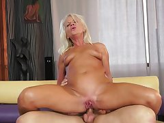 Anal Blonde Blowjob Couple