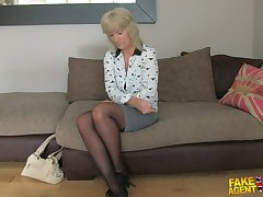 Blonde Blowjob Casting Dogging