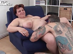Bbw handjob licking Mature