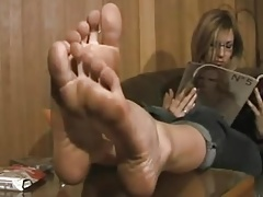 Blonde Feet Milf Mom