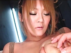 Asian Japanese Mom tits