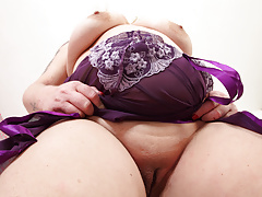 Bbw British Dildo Mature