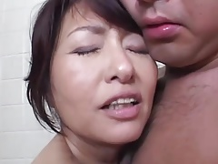 big-tits Blowjob Mom Natural