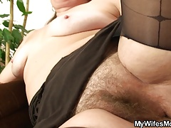 Cheating cock Granny Mature