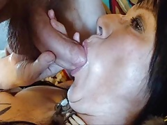 Bbw Blowjob Close Up cock