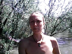 Amateur Mom Nudist tits